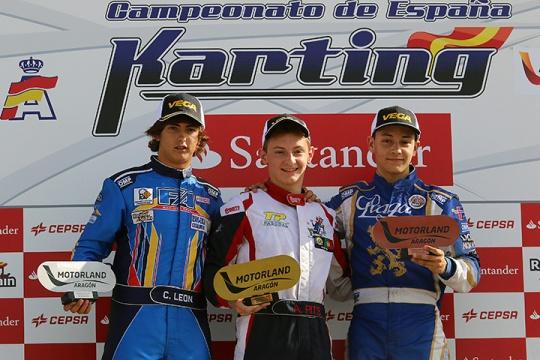 Andriy Pits já é bicampeão de Espanha de Karting da categoria Sénior