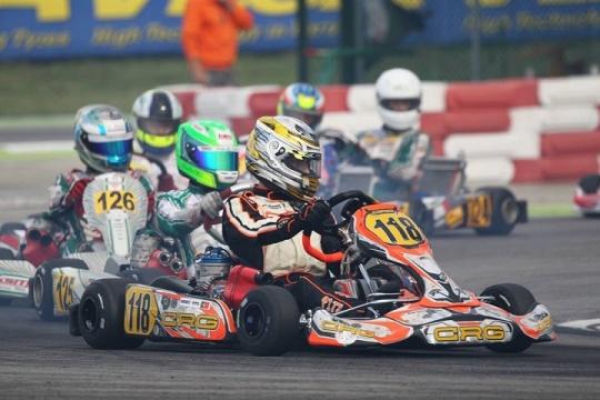 Andriy Pits 24º classificado na segunda prova do Europeu da categoria OK em Itália