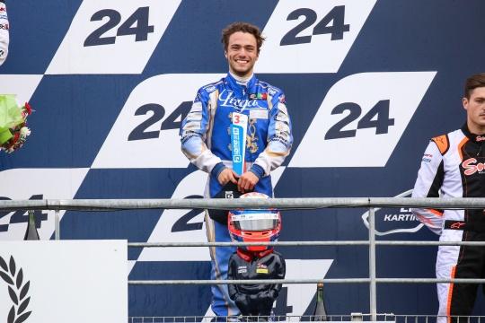 Rodrigo Ferreira conquista lugar no pódio no Mundial de Karting X30 Super Shifter