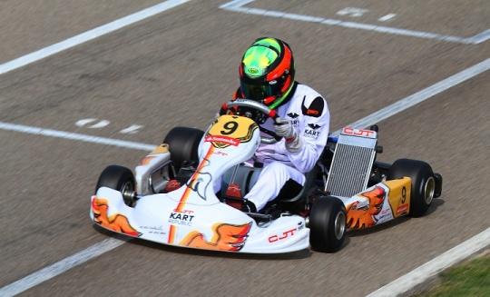 CEK 2: Ricardo Borges garante um 7º e 9º lugares na categoria Sénior