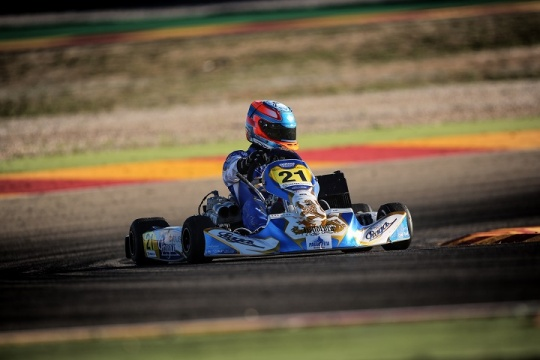 Rodrigo Ferreira vai partir do 14.º posto na Final 1 do CEK da categoria Sénior-KZ2