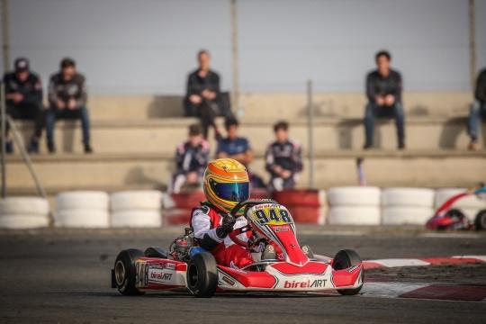 Santiago Alves a um lugar do pódio na Final da X30 Mini na Iame Winter Cup 2020