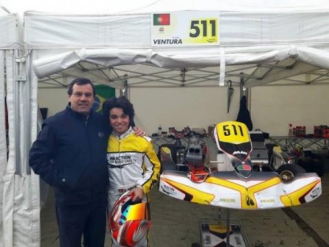 Simão Ventura representa Portugal com distinção no Troféu Academia CIK-FIA