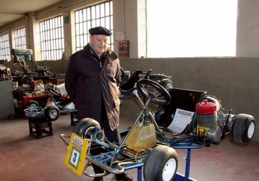 "Antonio ""Tony"" Bosio: Fundador e criador dos chassis Tonykart 'deixa-nos' aos 92 anos"