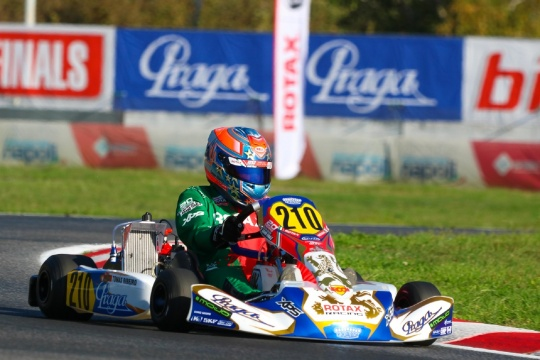 Tomás Ribeiro 30.º classificado na 1.ª manga do Mundial Rotax Júnior em Itália