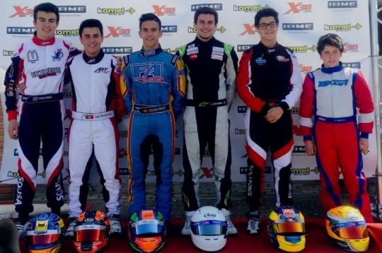 Portugueses destacam-se nos 'cronos' do X30 Challenge Europa 2015