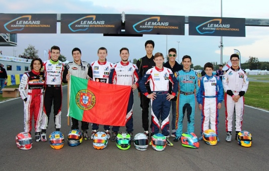 Yohan Sousa também venceu uma manga na categoria Super Shifter em Le Mans
