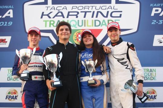 Manuel Leão fez a festa da Taça de Portugal de Karting na categoria X30 Sénior