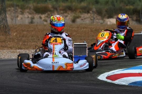 Yohan Sousa da 19.ª à 2.ª posição no Campeonato de Espanha Sénior KZ2