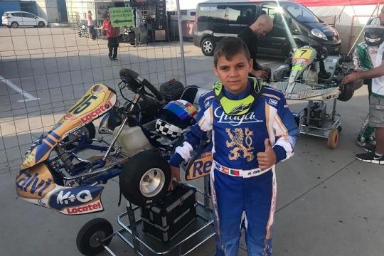 Adrián Malheiro confirmado como piloto oficial Praga em todas as provas do WSK