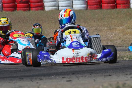 Luso-espanhol Adriàn Malheiro 8.º e depois 16.º no CEK da categoria Júnior