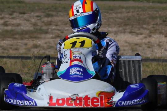 Adriàn Malheiro vence Corrida 2 do Campeonato de Espanha da categoria Júnior