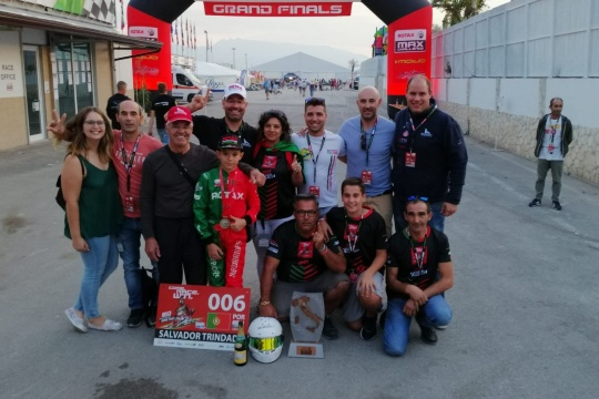 Salvador Trindade garante histórico 3.º lugar na Final do Mundial Rotax Micro-Max
