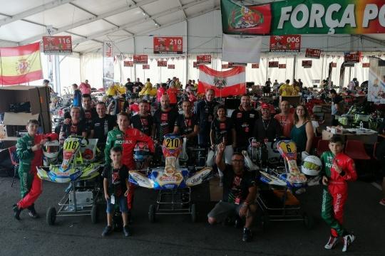 Júnior Racing Team e C.A. Racing voltaram a viver as emoções do Mundial Rotax