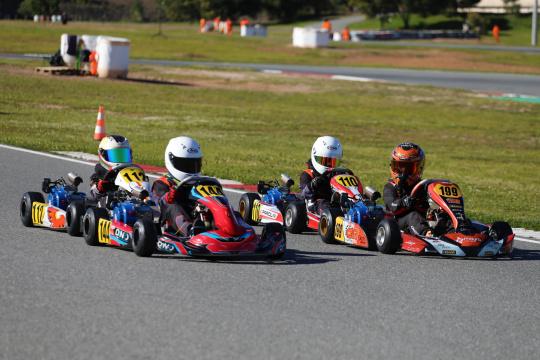 David Luís conquista a Taça de Portugal de Karting na categoria Cadete 4T