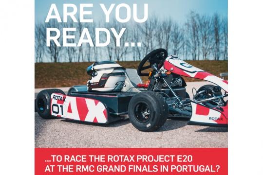 Inscrições abertas para a categoria E20 do Mundial Rotax que se realizará em Portimão
