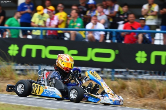 Christian Costoya vai largar da 25ª posição na Pré-Final do Mundial Rotax Micro-Max