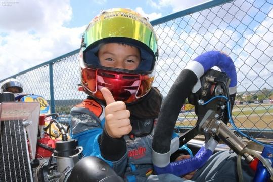 Christian Costoya vai partir da 20ª posição na Final do Mundial Rotax Micro-Max