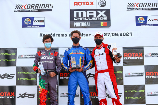 Coutinho na DD2 e Kieltyka na DD2 Master somam terceira vitória no Troféu Rotax