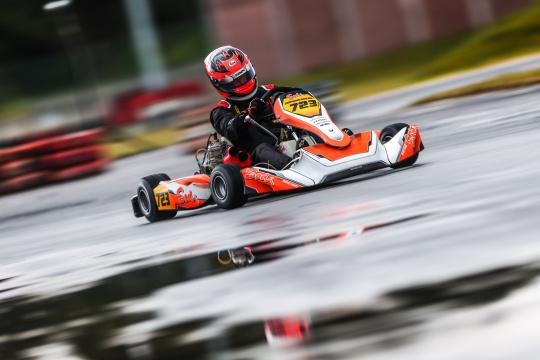 Joaquim Rocha estreia-se e garante pódio no Campeonato de Portugal de Karting