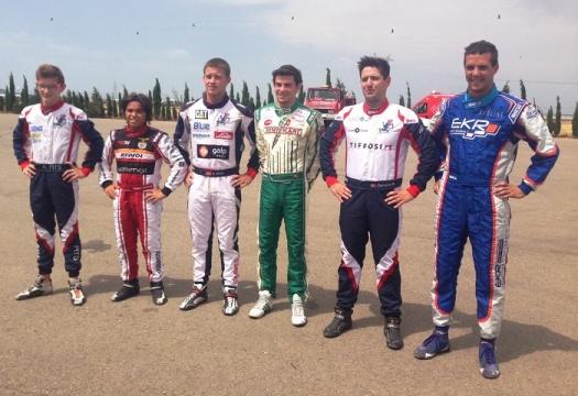 Andriy Pits garante pole-position na categoria Sénior do Campeonato de Espanha