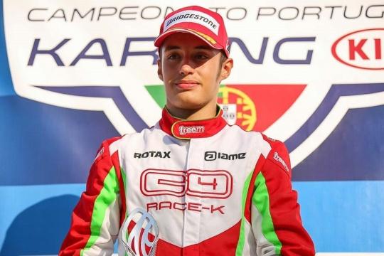 Guilherme de Oliveira disputar a sua primeira corrida de Fórmula 4 em Espanha