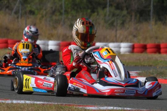 Guilherme de Oliveira garante top-5 na categoria KZ2 do Campeonato de Espanha