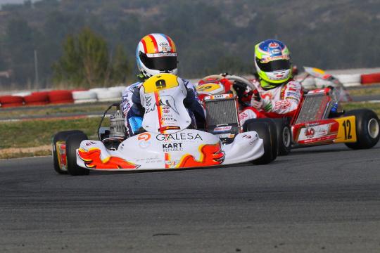 Adrián Malheiro 4.º classificado na categoria Júnior do VII Hivern Karting em Valência
