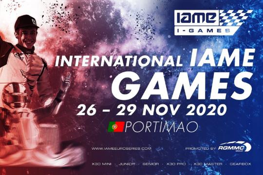 'International Iame Games' arranca já amanhã com os treinos privados em Portimão