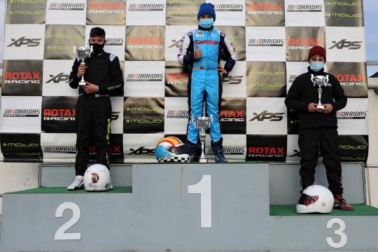 Adrián Malheiro vitorioso no regresso ao Troféu Rotax da categoria Júnior em Braga