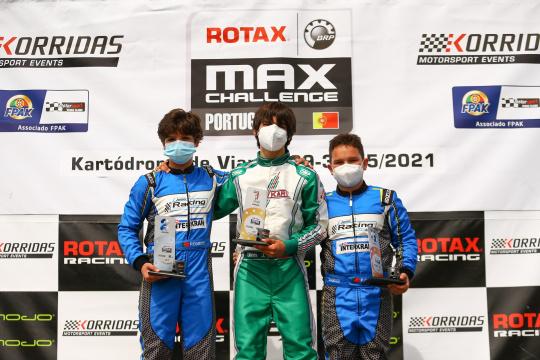 Primeira vitória de João Dinis na categoria Júnior do Troféu Rotax em Viana do Castelo