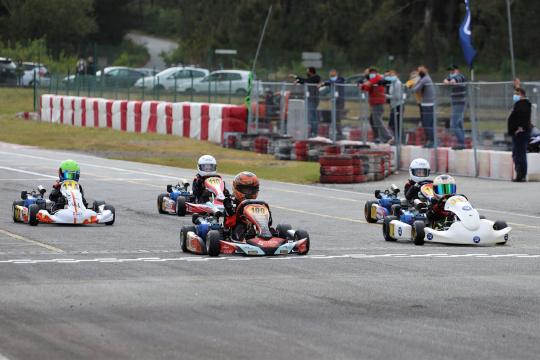 Lourenço Rocha dominou a categoria Cadete 4T na abertura do CPK em Viana do Castelo