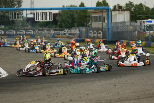 Noah Monteiro 16.º na 3.ª prova da IAME Euro Series da categoria Júnior em Itália