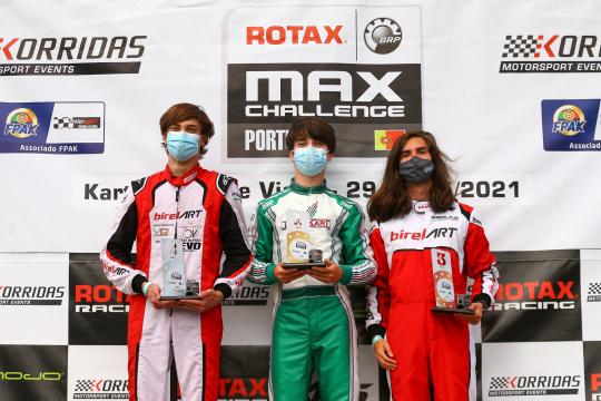 Gabriel Caçoilo regressa às vitórias na categoria Sénior do Troféu Rotax