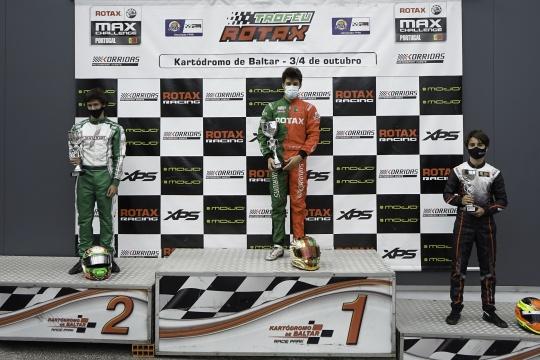 Guilherme de Oliveira triunfa na categoria Sénior Max do Troféu Rotax em Baltar