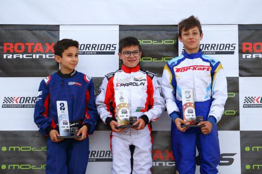 Triunfo de João Barros no Troféu Rotax Micro-Max após vitórias repartidas em Baltar