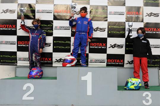Espanhol Javier Broasca impôs-se hoje no Troféu Rotax da categoria Micro-Max em Braga