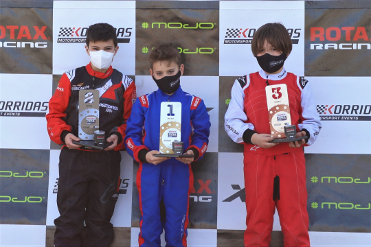 Estreia vitoriosa de Afonso Lopes na categoria Micro-Max do Troféu Rotax em Portimão