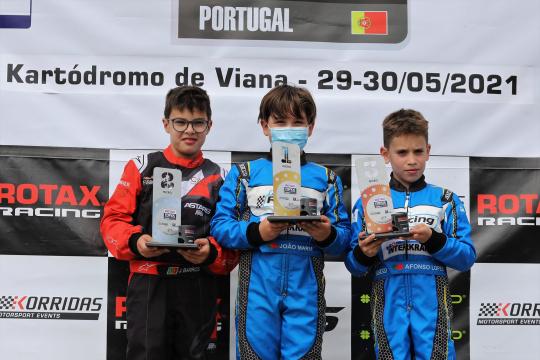 João Maria Pereira vitorioso no Troféu Rotax da categoria Micro-Max em Viana do Castelo