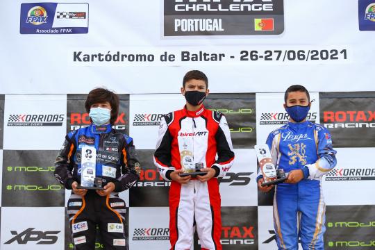 Salvador Trindade soma terceira vitória no Troféu Rotax da categoria Mini-Max