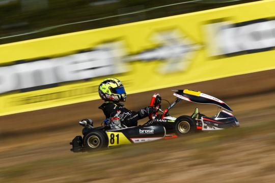 Noah Monteiro 11.º e Adrián Malheiro 14.º na 2.ª prova da IAME Euro Series em Zuera