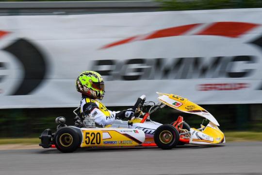 Noah Monteiro com estreia positiva no FIA Karting Academy Trophy na Alemanha