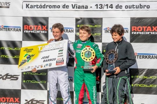 José Barros campeão Mini-Max e João Oliveira 'vice' com duas vitórias em Viana