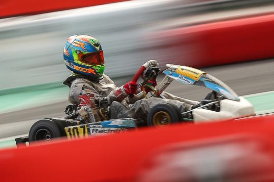 Rodrigo Vilaça 13.º classificado na Final do Rotax International Trophy Mini-Max
