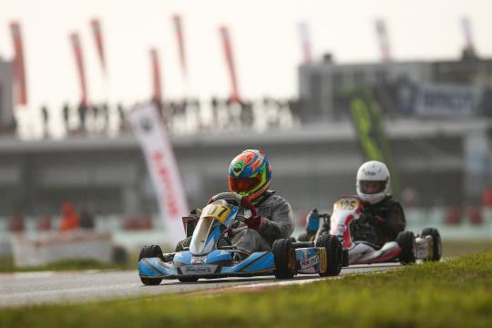 Rodrigo Vilaça garantiu hoje um 6.º lugar na 1.ª manga do Rotax International Trophy