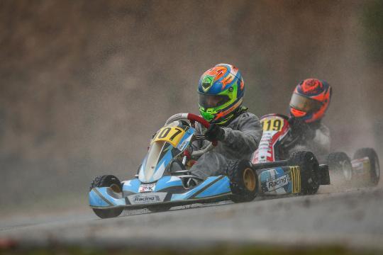 Rodrigo Vilaça 12.ª classificado na Pré-Final do Rotax International Trophy Mini-Max