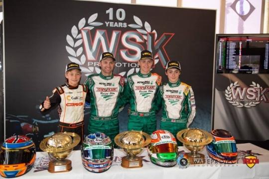 Ardigò, Nielsen, Novalak e Hauger vencem WSK Super Master Series 2015