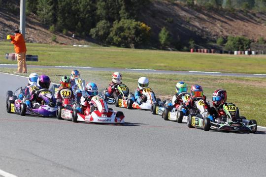 Gustavo da Silva está a dominar a Taça de Portugal de Karting da categoria X30 Mini