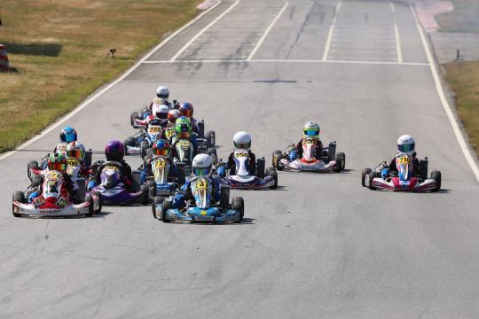Martim Meneses garante segunda vitória no CPK da categoria X30 Mini em Baltar
