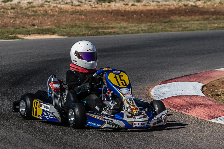 João Oliveira dá boas indicações na categoria Micro-Max do 'Mundial Rotax'